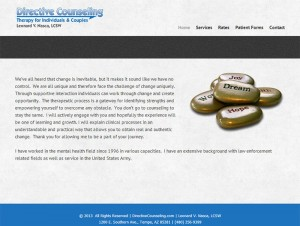 Directive Counseling Website