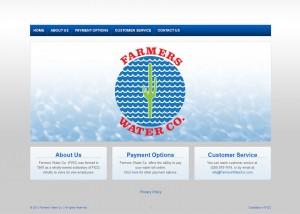 Farmers Water Co Website