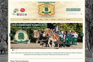 Sahuarita Pecan Festival Website2014