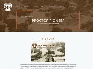 Proctor Pioneer Website